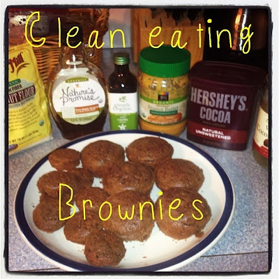 clean eating brownie recipe