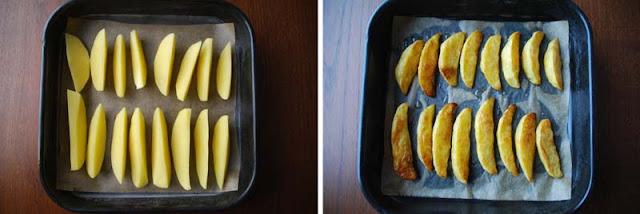 Kartoffelspalten aus dem Ofen | pastasciutta 2015