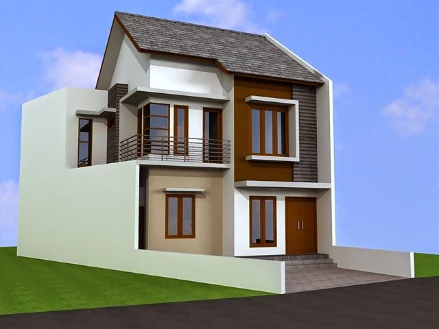 rumah minimalis 2 lantai type 100