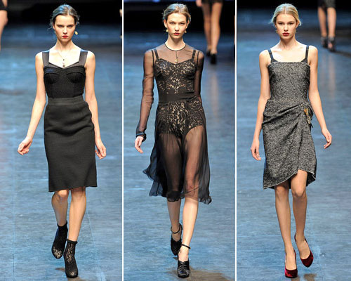 modnue platya dg02 Модні сукні від Dolce & Gabbana