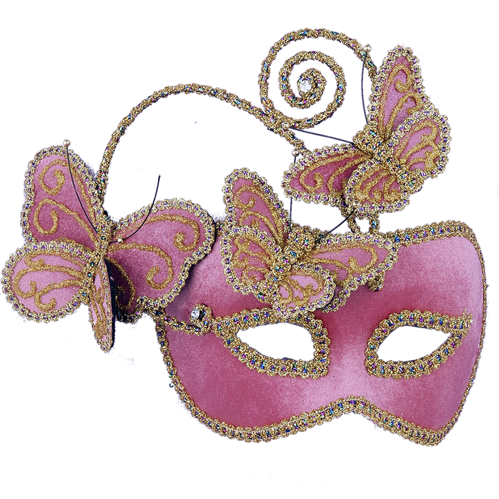 The Other Side of Mae: Gaga Over Masquerade Masks!
