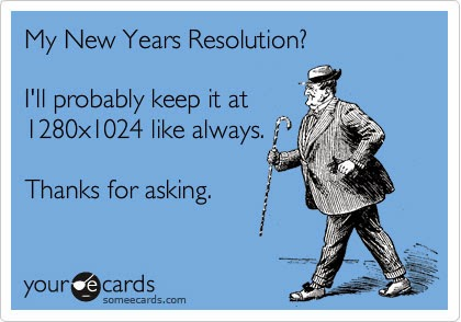 12 Funny New Year Resolution Images | Pictures