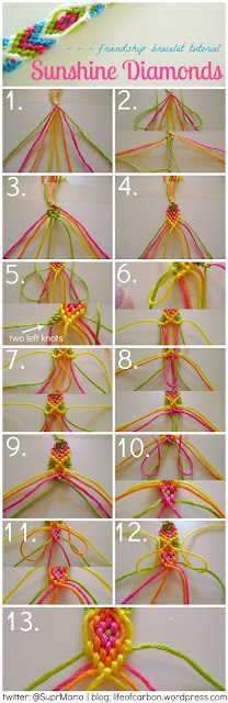 Friendship Bracelet Tutorial5