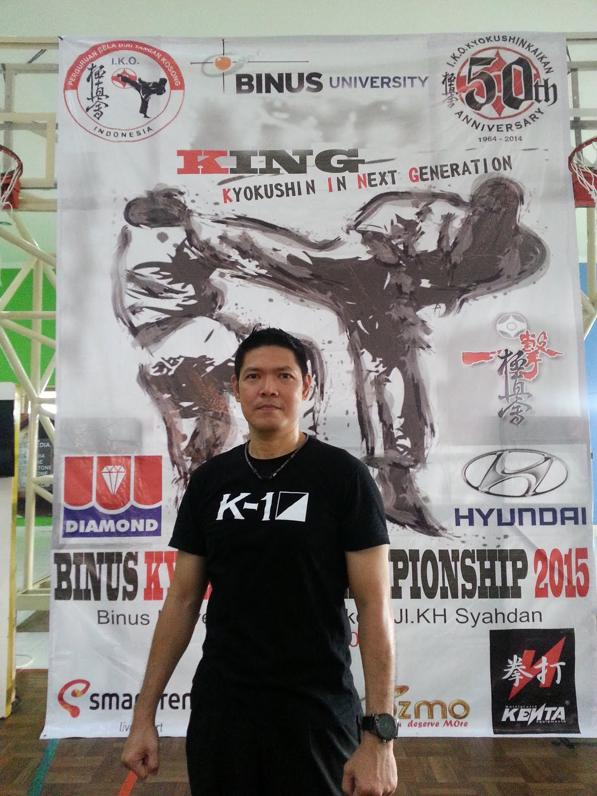 Binus Kyokushin Championship 2015