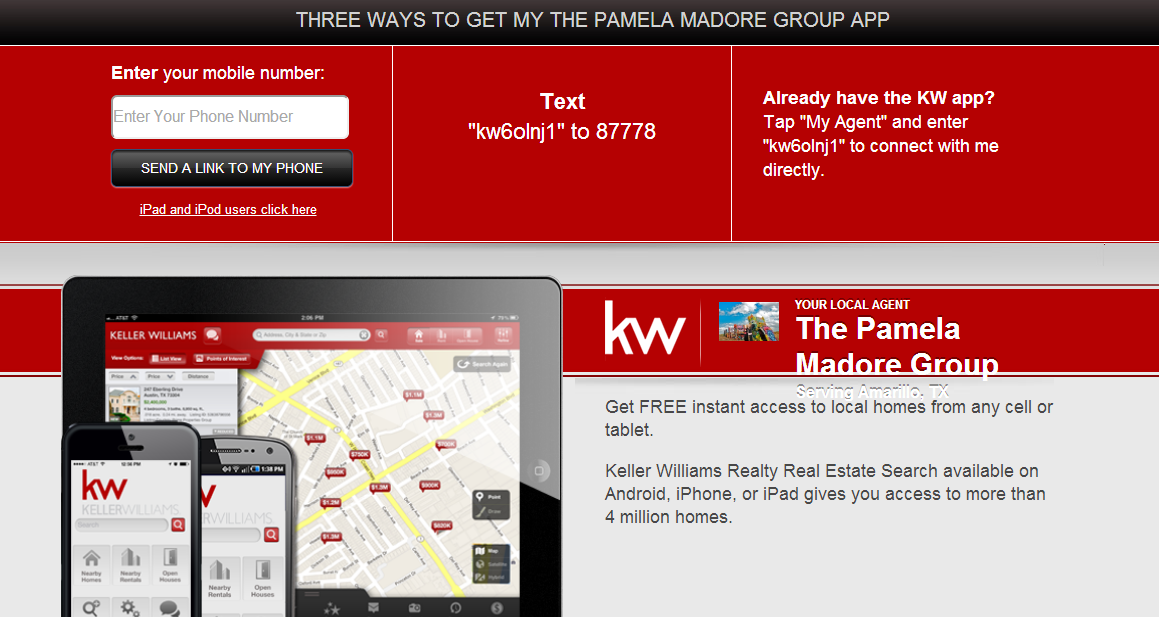 The Pamela Madore Group Mobile App