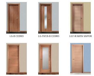 Fotos y dise os de puertas puertas de aluminio precios for Precio de puertas de madera para casas