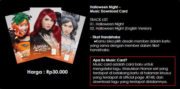 Download Mp3 JKT48 Full Album Halloween Night 2015