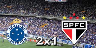 Cruzeiro 2x1 São Paulo