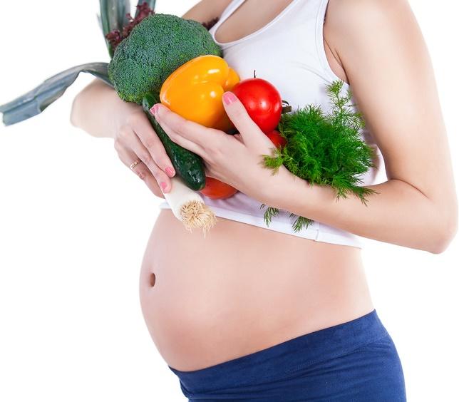 Weganka w ciąży