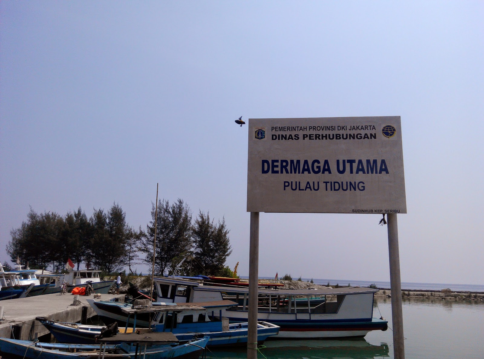 Dermaga Utama Pulau Tidung