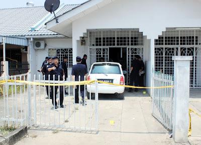 Wanita Mati, Inspektor Polis Parah