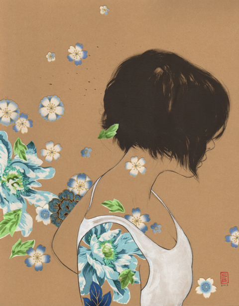 Stasia Burrington's collection of drawings