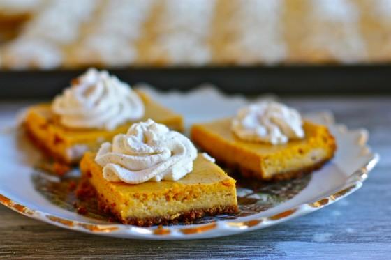 Riches to Rags* by Dori: Pumkin Cheesecake Bites