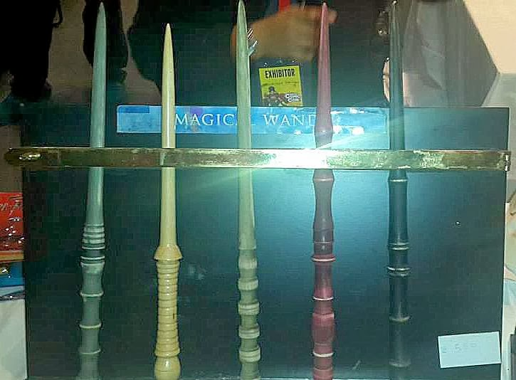 Harry Potter Wands Delhi Comicon