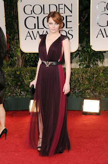 Emma Stone Lanvin Gown