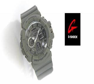 jam tangan keren GSHOCK D-3641 GREY