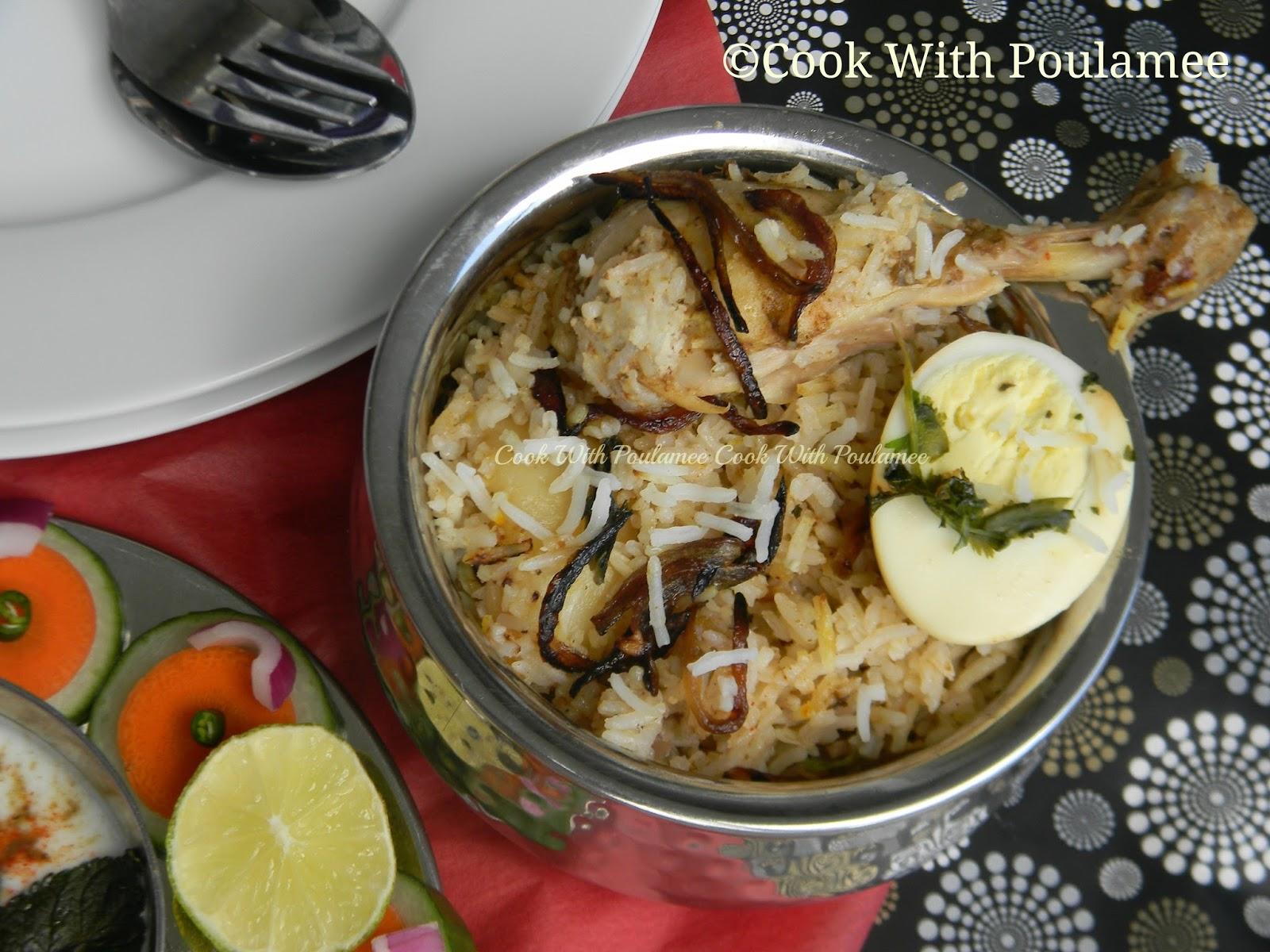 Chicken handi biryani - photo#15