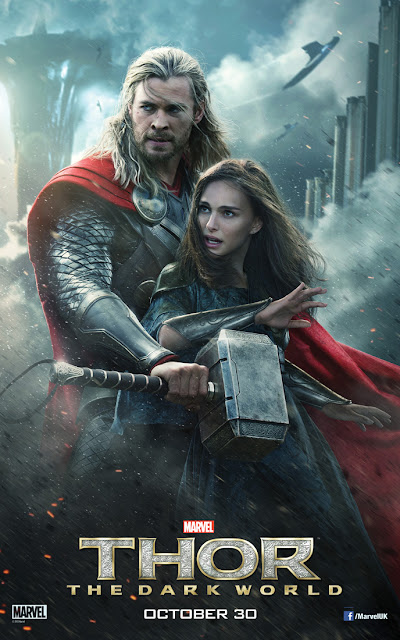 Thor The Dark World Thor and Jane Foster Character Banner
