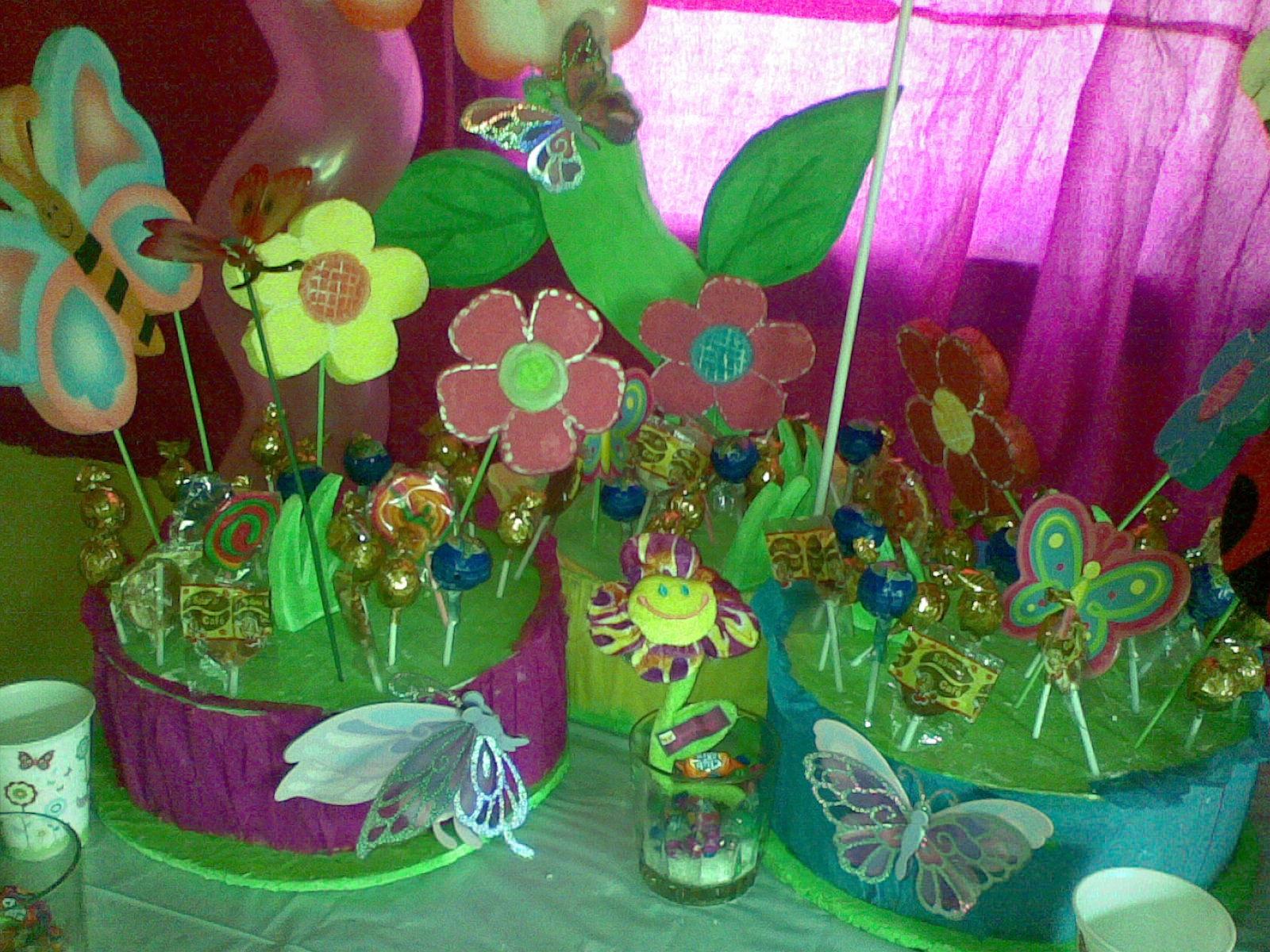 Decoraci n camila decoraciones infantiles y motivos de - Decoracion de cumpleanos infantiles ...