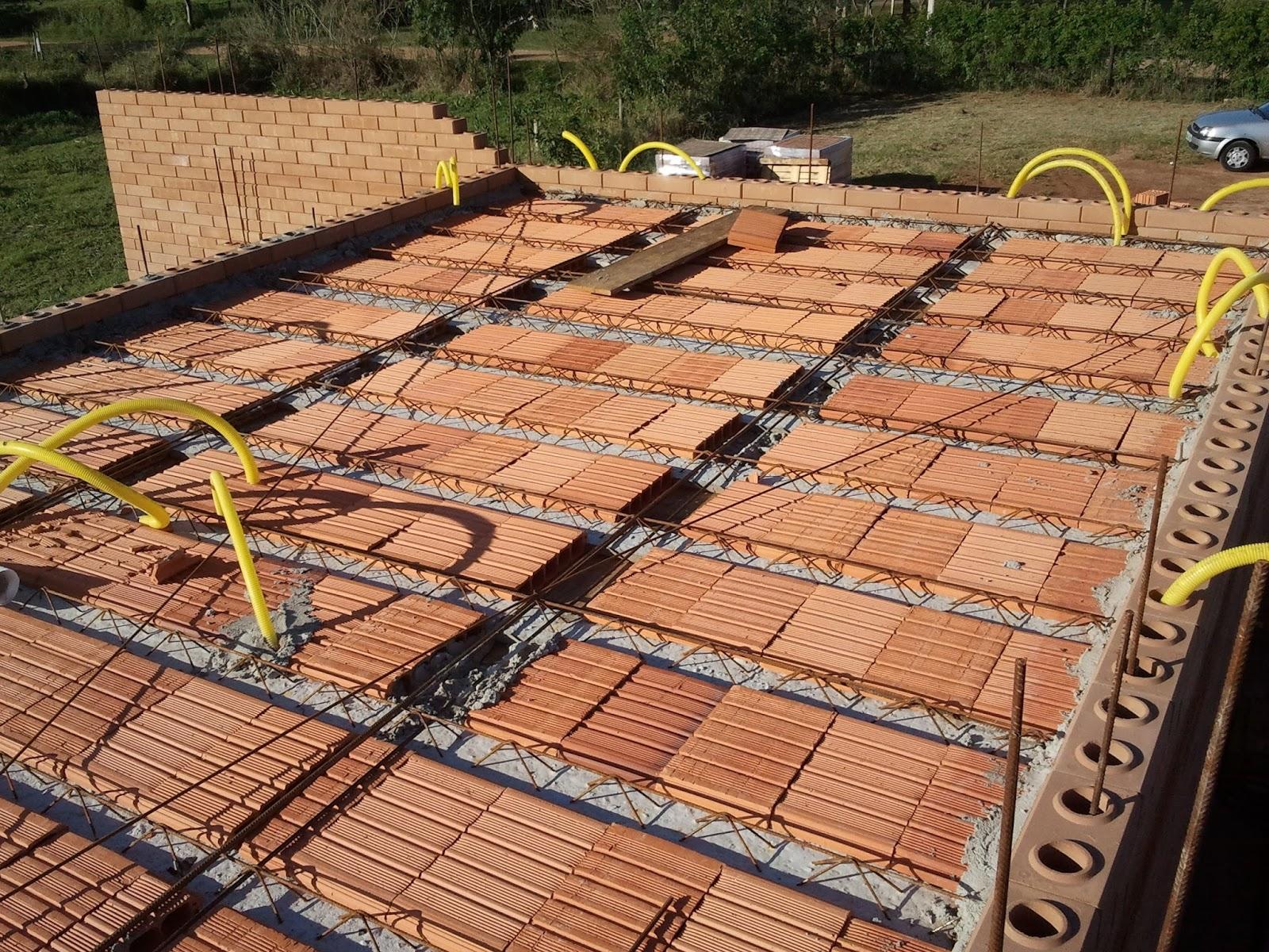 Construindo e Ampliando com Tijolo Solo cimento / Ecológico: Laje 3 #A99622 1600x1200 Banheiro Com Tijolo Ecologico