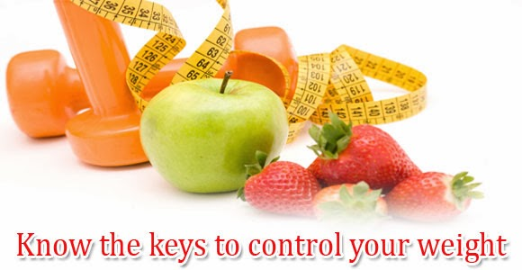 keys to control your weight