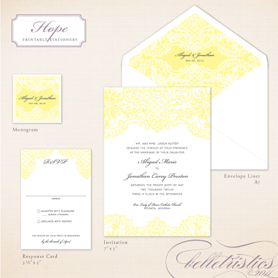 vintage romantic lace printable diy wedding invitation design