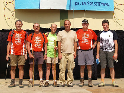 Marxa Popular de Barri de Cirera de Mataró 2012