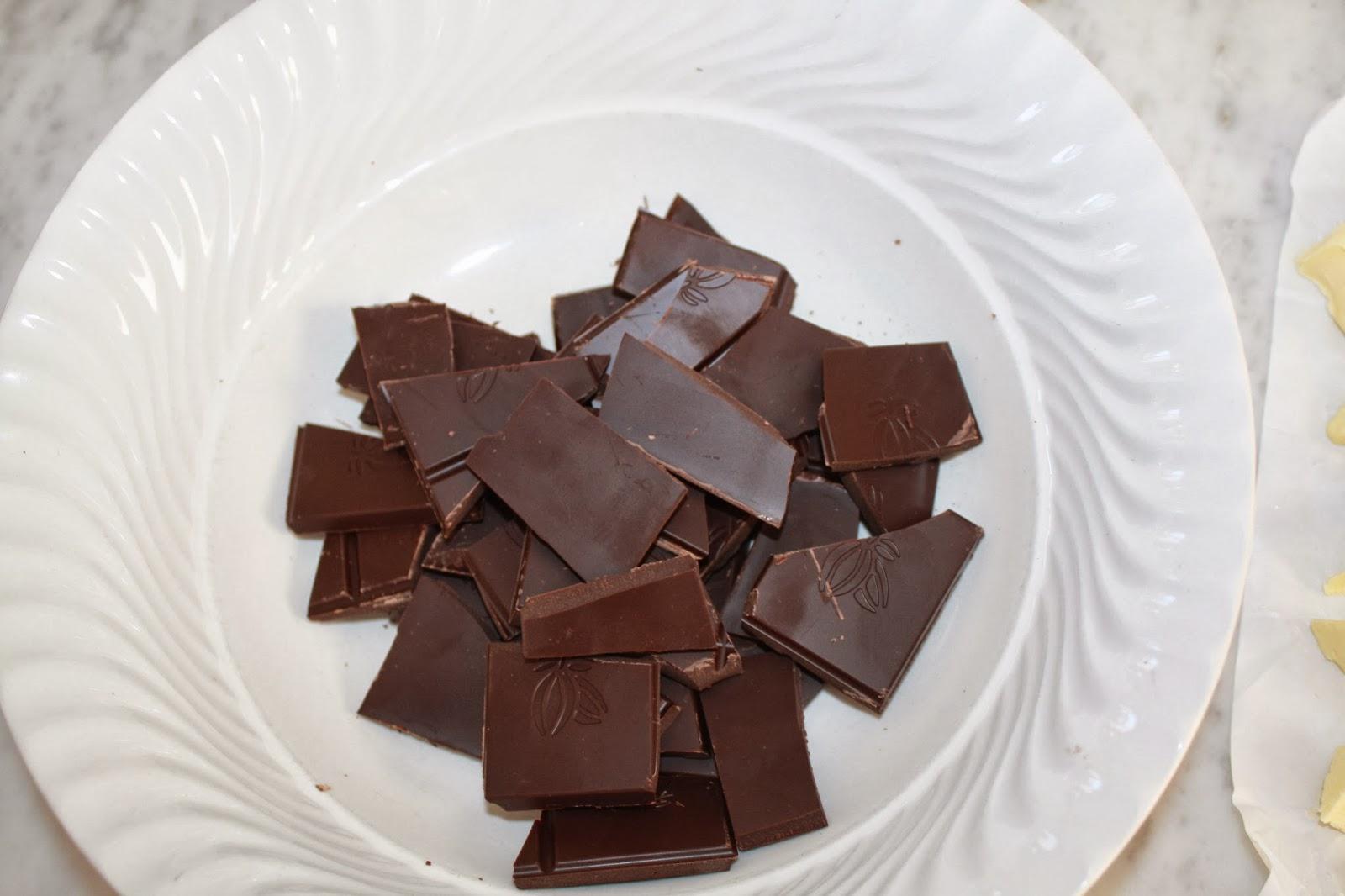 mousse al cioccolato piccante