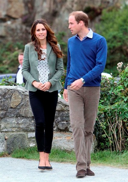 Kate Middleton first public appearance after childbirth