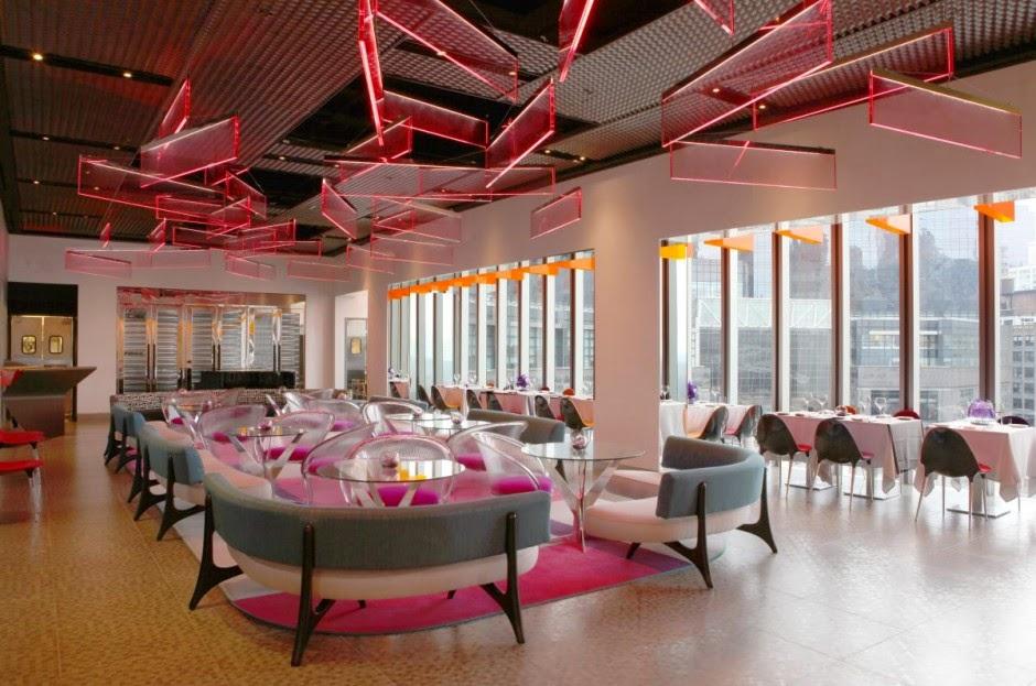 Luxury Interior Restaurant with Modern Furniture