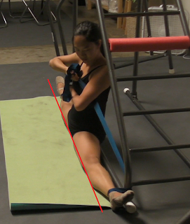 straddle stretch machine