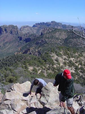 View from Emory Peak, Big Bend National Park, Texas
