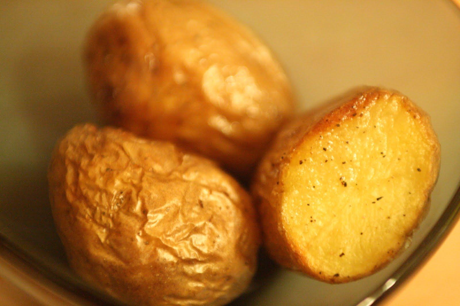 Petites pommes de terre enti res au four cuisine 4 noobs for Cuisine entiere