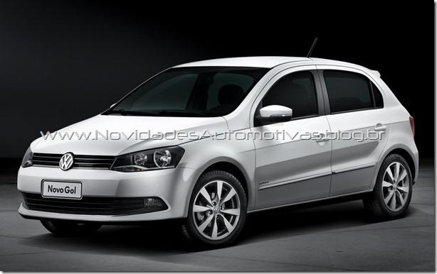 Nuevo Volkswagen Gol y Voyage con trompa nueva 2013 G6