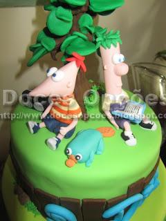 Aniversário com o Phineas e Ferb