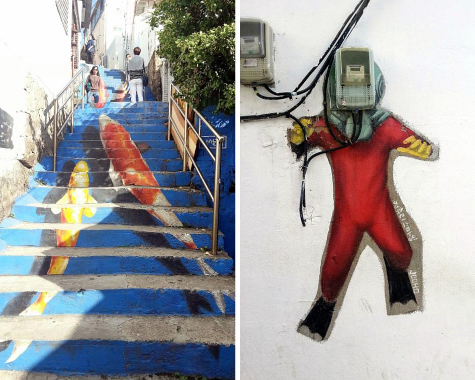 Ihwa village murals