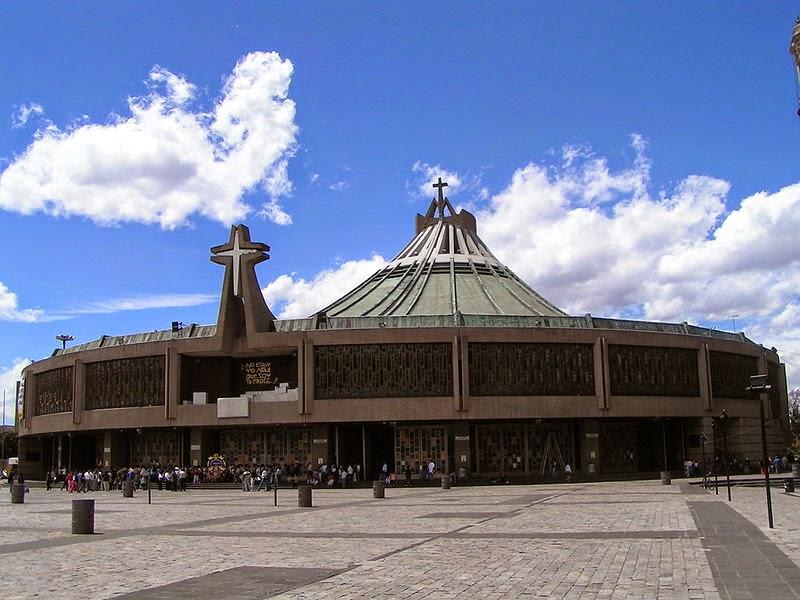 Basílica de Santa María de Guadalupe, DF.