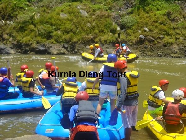 rafting start