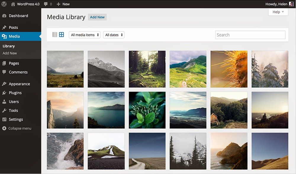 Pengelolaan Media Gambar Pada Wordpress terbaru