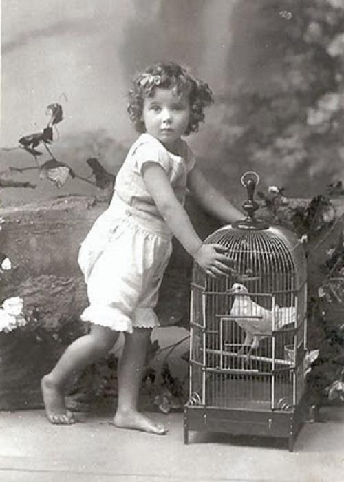 Photo bébé ancienne
