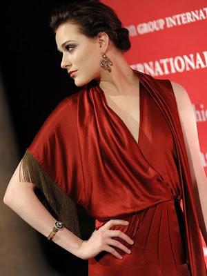 Evan Rachel Wood Crystal Chandelier Earrings
