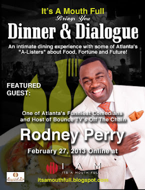 Dinner & Dialogue w/ Mr. Rodney Perry