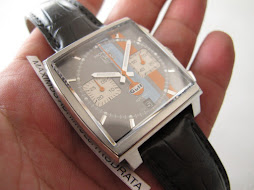 SOLD TAG HEUER MONACO GULF EDITION - AUTOMATIC