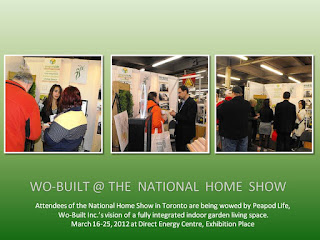 Wo-Built  at the National Home Show 2012, Peapod Life - an affordable sustainable home addition, photos: Olga Goubar @ wobuilt.com