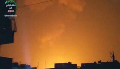 a-proxima-guerra-imagenes-ataque-de-israel-contra-base-militar-siria-31-de-octubre