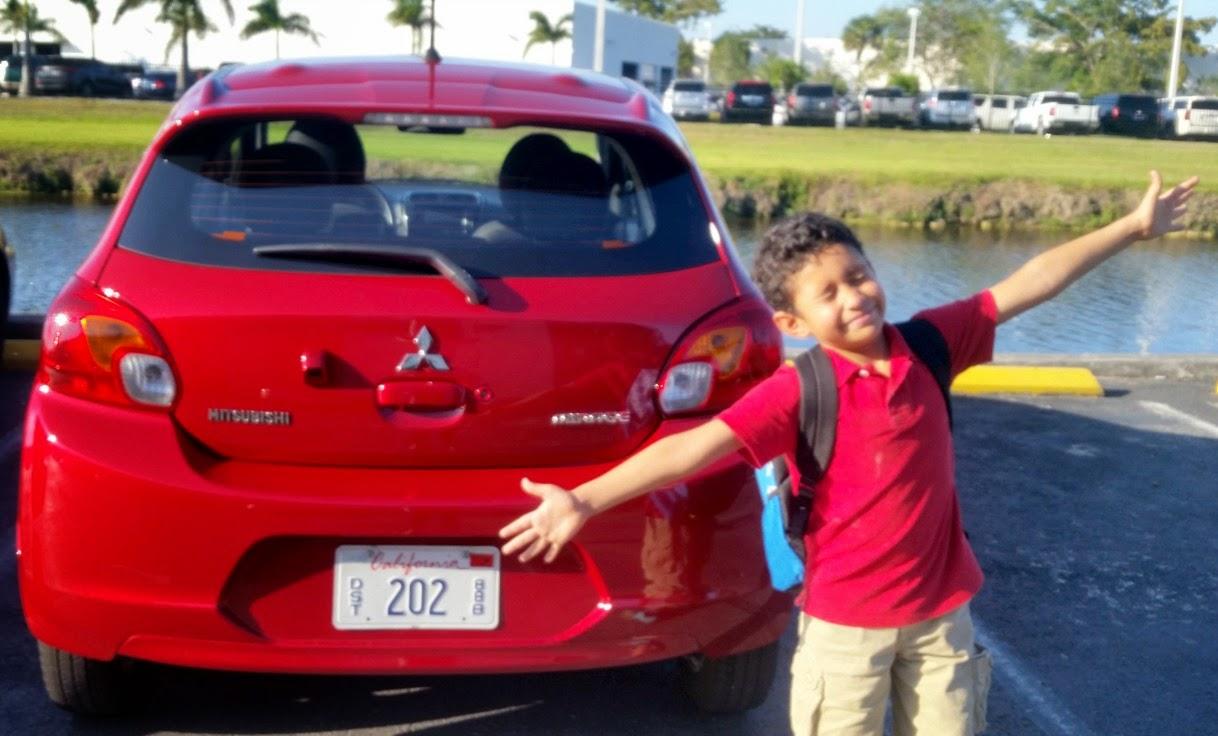 the 2015 Mitsubishi Mirage: perfectly sized for fun  #DriveMitsubishi #sponsored