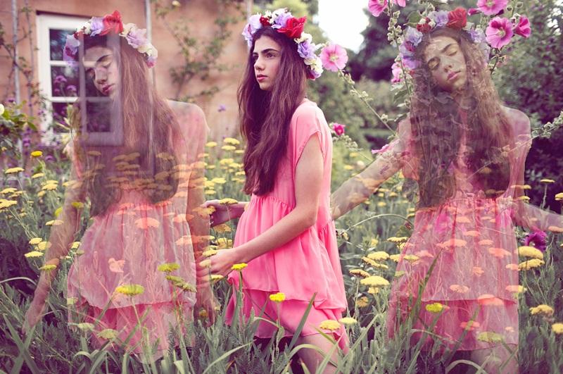 Casper and Pearl, Australian label, Secret Garden A/W 2013, florals, floral crown
