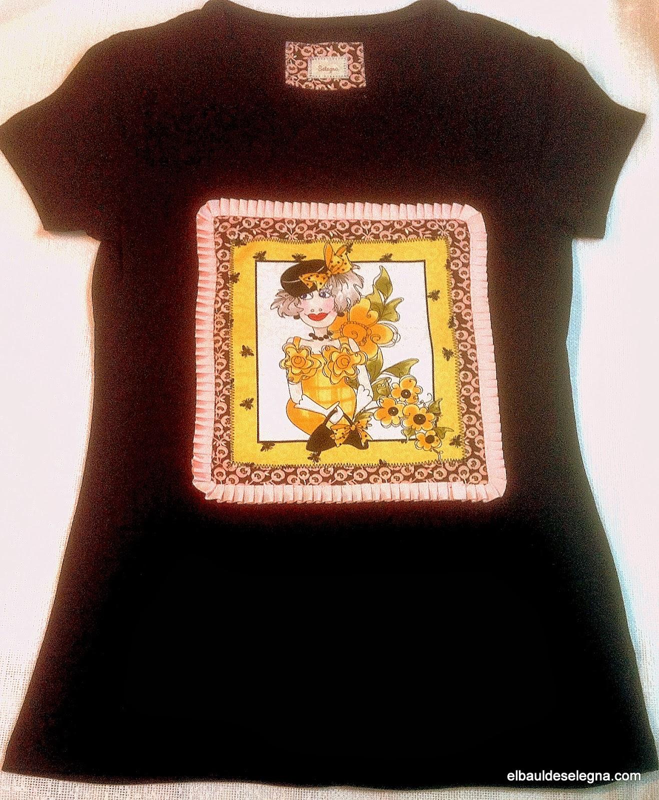 Camiseta chica loca 03
