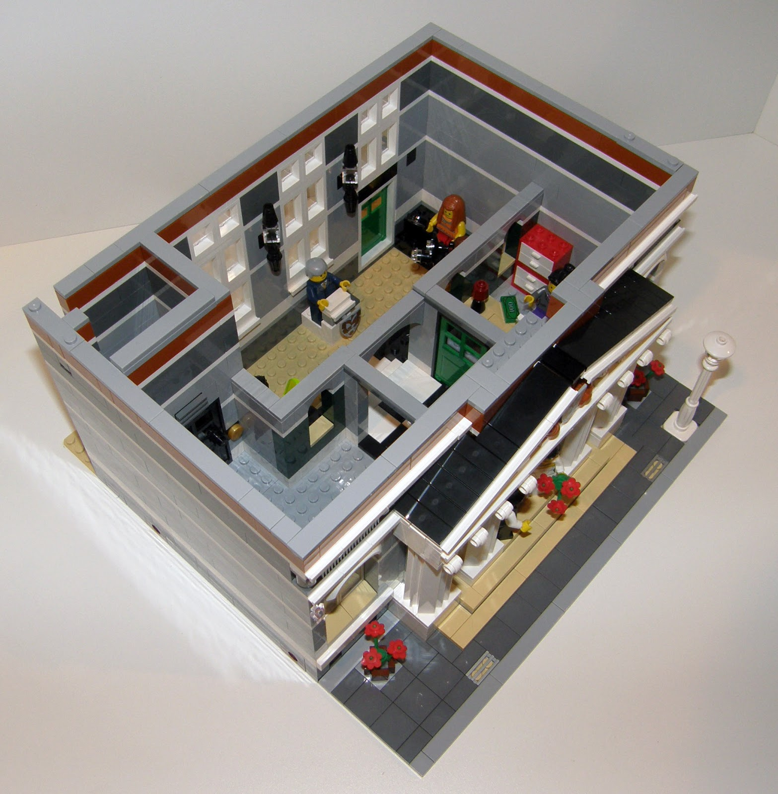 Mostly transformers redux lego town hall - Lego house interior ...