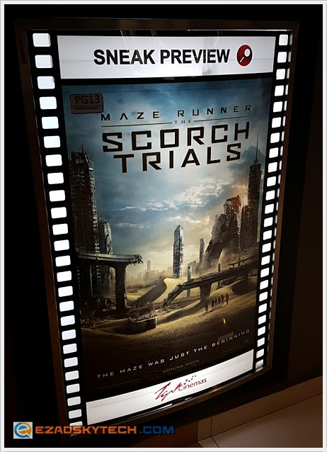 Film Review - Maze Runner : The Scorch Trials
